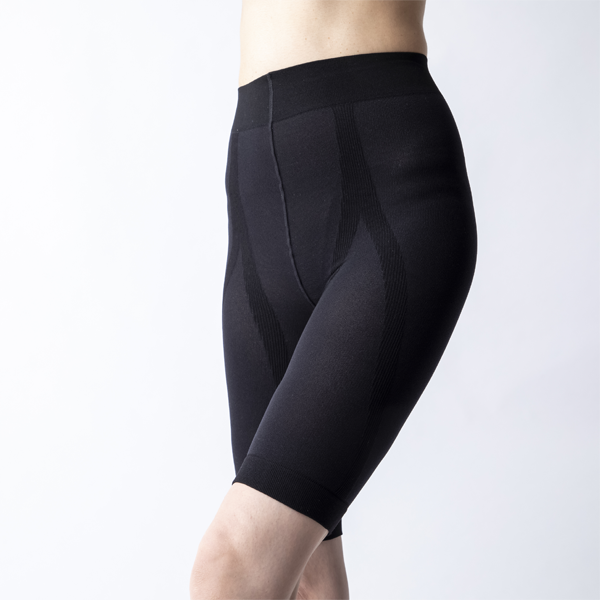 Waist- spats black